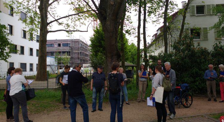 Archiv Quartiersmanagement Hasenleiser, Stadtteilspaziergang