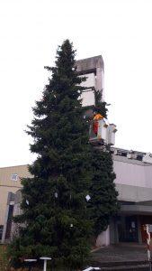 Archiv Quartiersmanagement Hasenleiser,Weihnachtsbaum_2