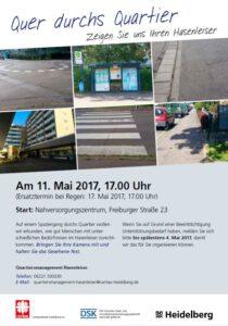 20170511 3. Quer durchs Quartier Spaziergang